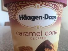 ハワイのハーゲンダッツ~caramel cone