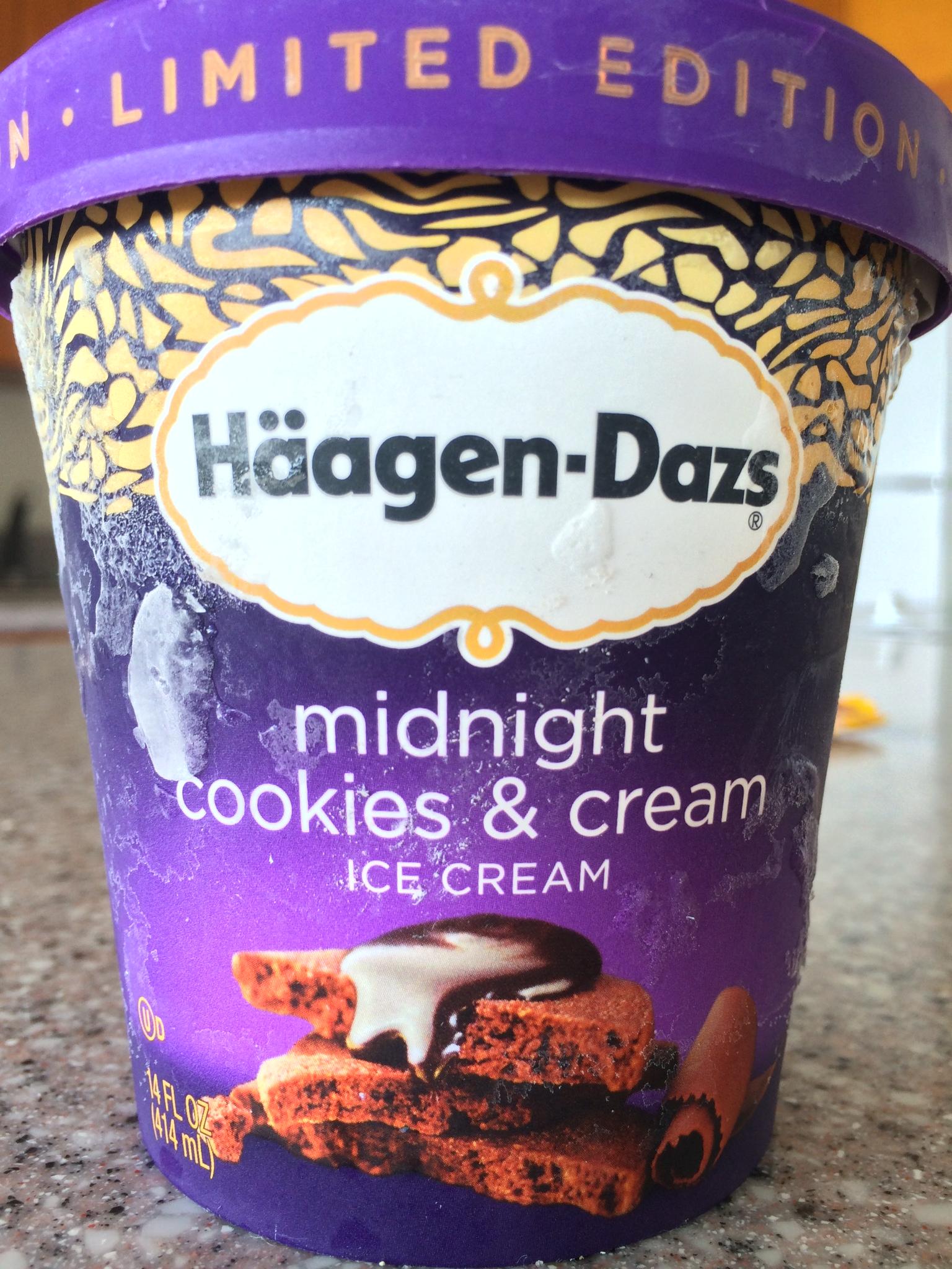 ハワイのハーゲンダッツ〜midnight cookies&cream