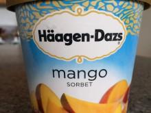 ハワイのハーゲンダッツ〜mango SORBET