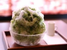 三日月氷菓店。宇治抹茶