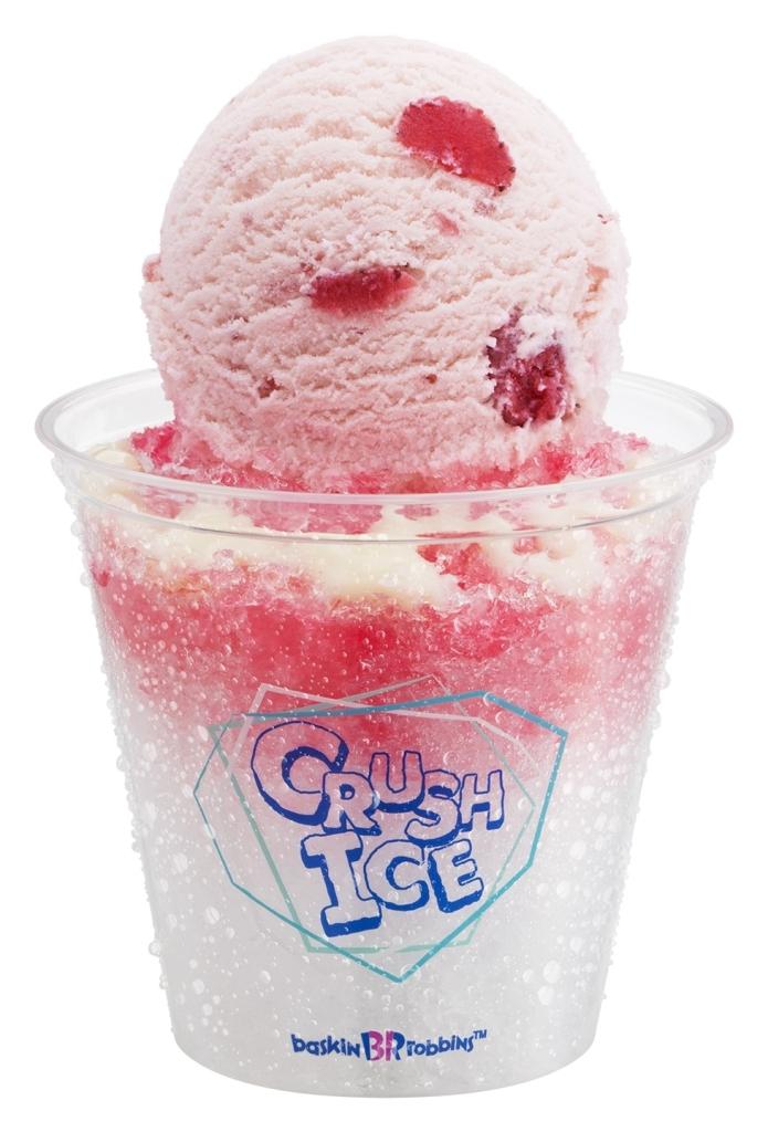 サーティワン クラッシュアイス いちごミルク