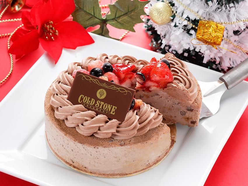 コールドストーン クリスマスケーキ ベリーベリーチョコレート