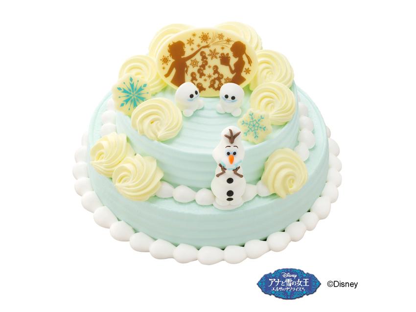 サーティワン 'アナと雪の女王'サプライズケーキ