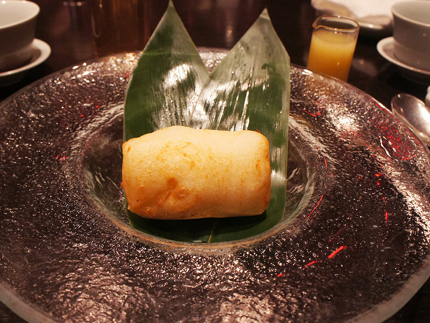 グランドハイアット東京 チャイナルーム アイス天ぷら