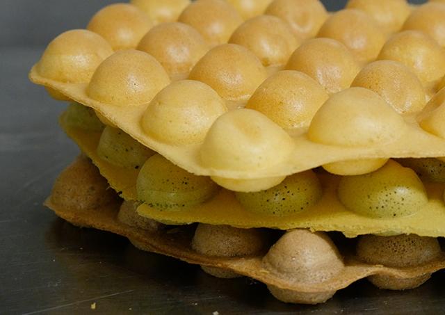 ワッフルアイステイクアウト専門店「Popping Waffle」
